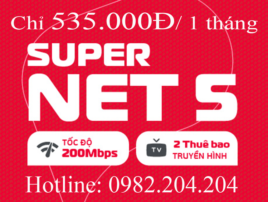 Lắp mạng internet wifi Viettel Supernet 5