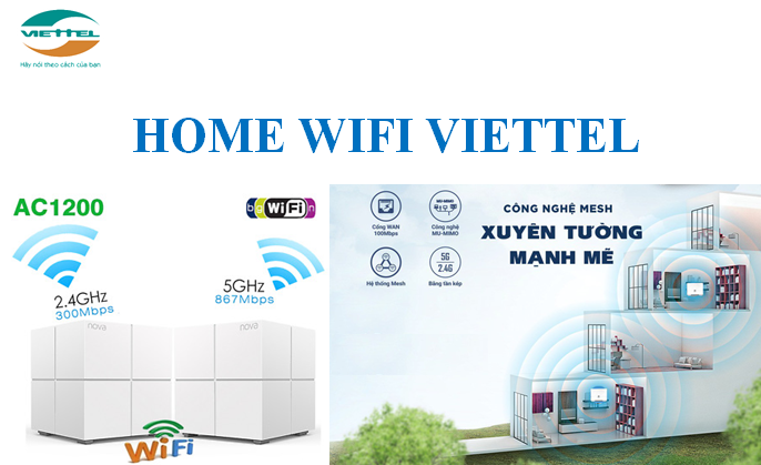 lắp đặt wifi Viettel 2021 Home wifi