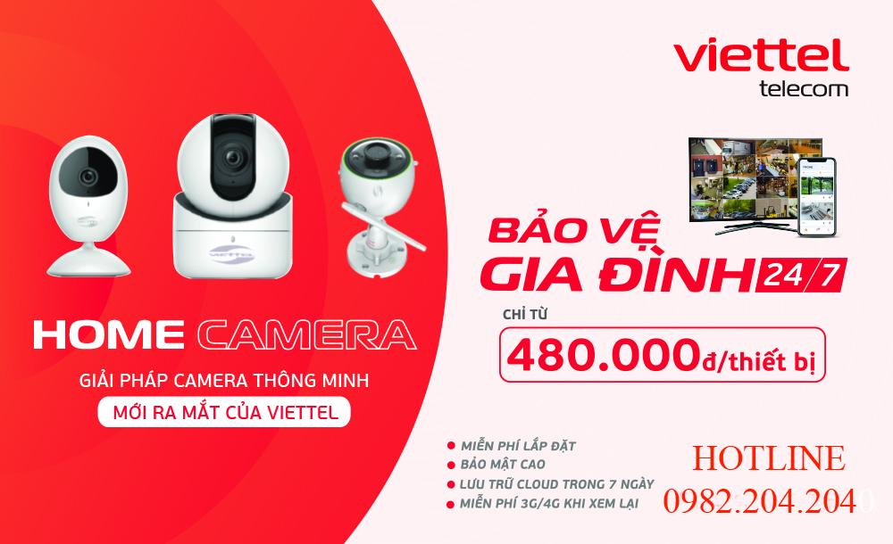 Bảng Giá Camera Viettel wifi mới nhất 2021