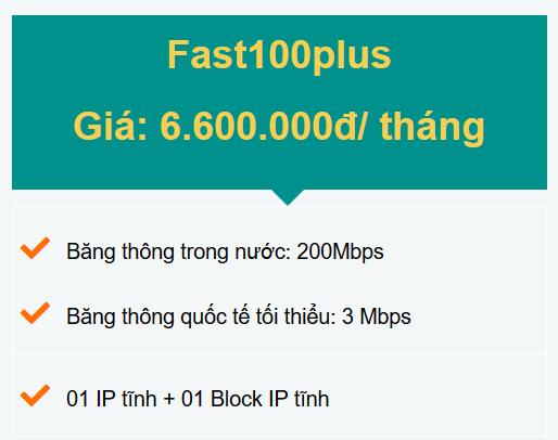 gói fast100plus doanh nghiệp