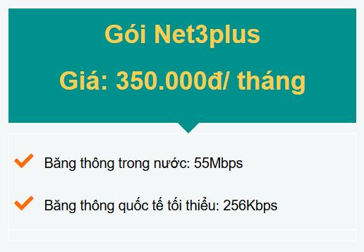 gói net3plus doanh nghiệp