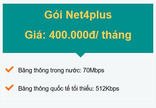 gói net4plus doanh nghiệp