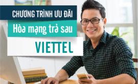 Khuyến mãi đăng ký trả sau Viettel
