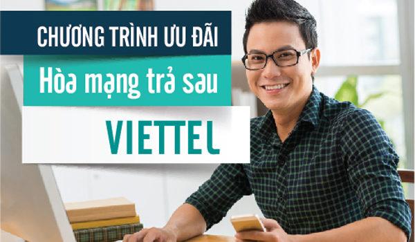 đăng ký trả sau Viettel tại nhà