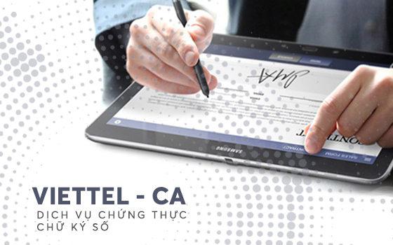 gia hạn chữ ký số Viettel tại Bình Dương
