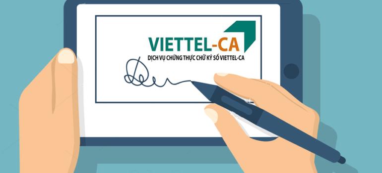 Bảng giá chữ ký số Viettel 2020
