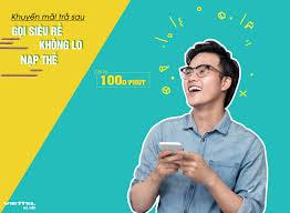 Khuyến mãi trả sau Viettel gọi siêu rẻ không lo nạp thẻ
