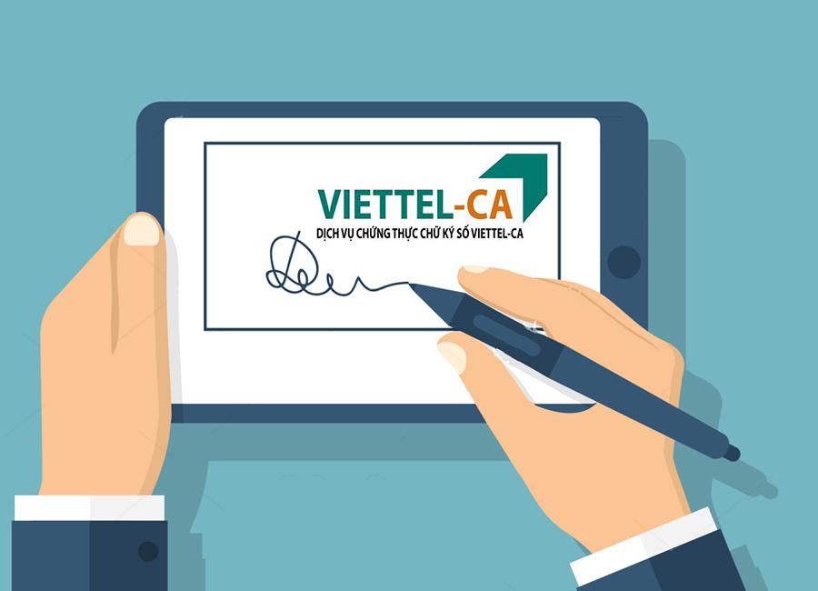Phí gia hạn chữ ký số Viettel