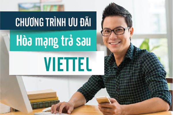 khuyến mãi đăng ký di động trả sau Viettel
