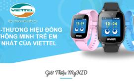 Đồng Hồ Thông Minh Định Vị Trẻ Em Viettel MyKid Phiên Bản 2020