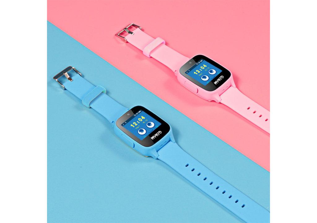 Đồng hồ định vị trẻ em Viettel màu hồng và màu xanh