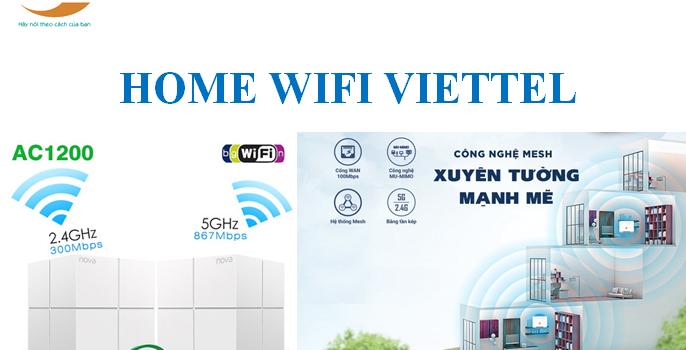 Bảng Giá Lắp Đặt Các Gói Cước Home Wifi Viettel