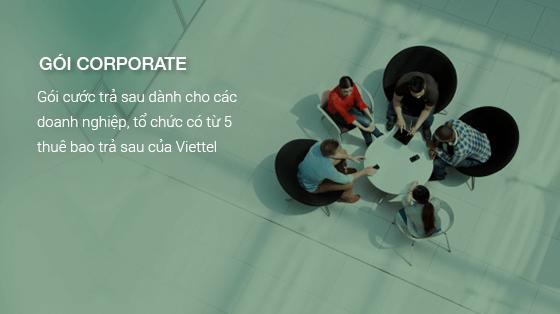 các gói cước khuyến mãi di động trả sau Viettel doanh nghiệp