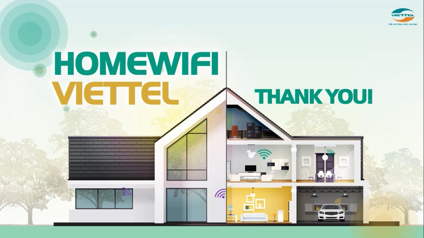 Home wifi Viettel TPHCM Thank You.
