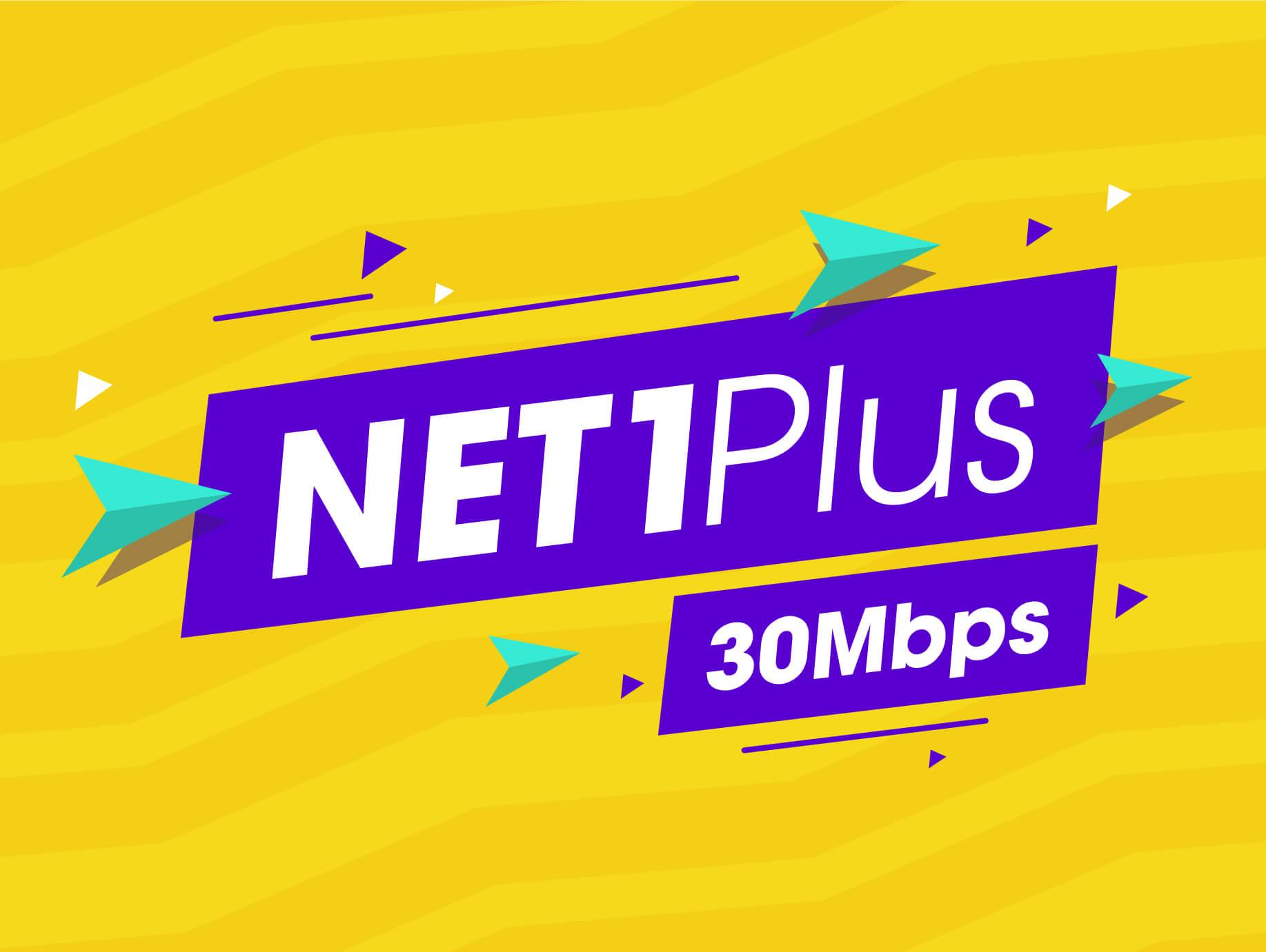 Internet Cáp Quang Wifi Gói Net 1 plus Viettel 30 Mbps