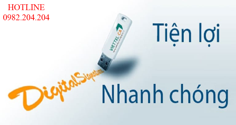 Token USB chữ ký số Viettel