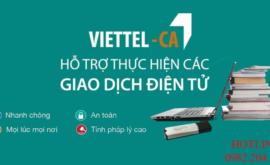 Top 1 Chữ Ký Số Viettel Giá Rẻ Nhất