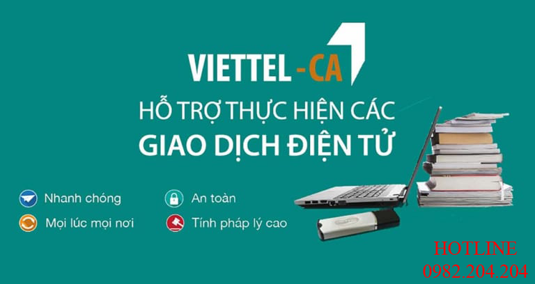 Chữ ký số giá rẻ HCM Viettel Top 1 thị phần