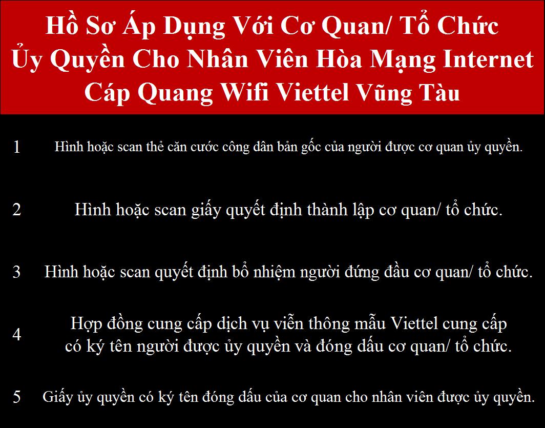 Đăng ký internet Viettel Bà Rịa Vũng Tàu