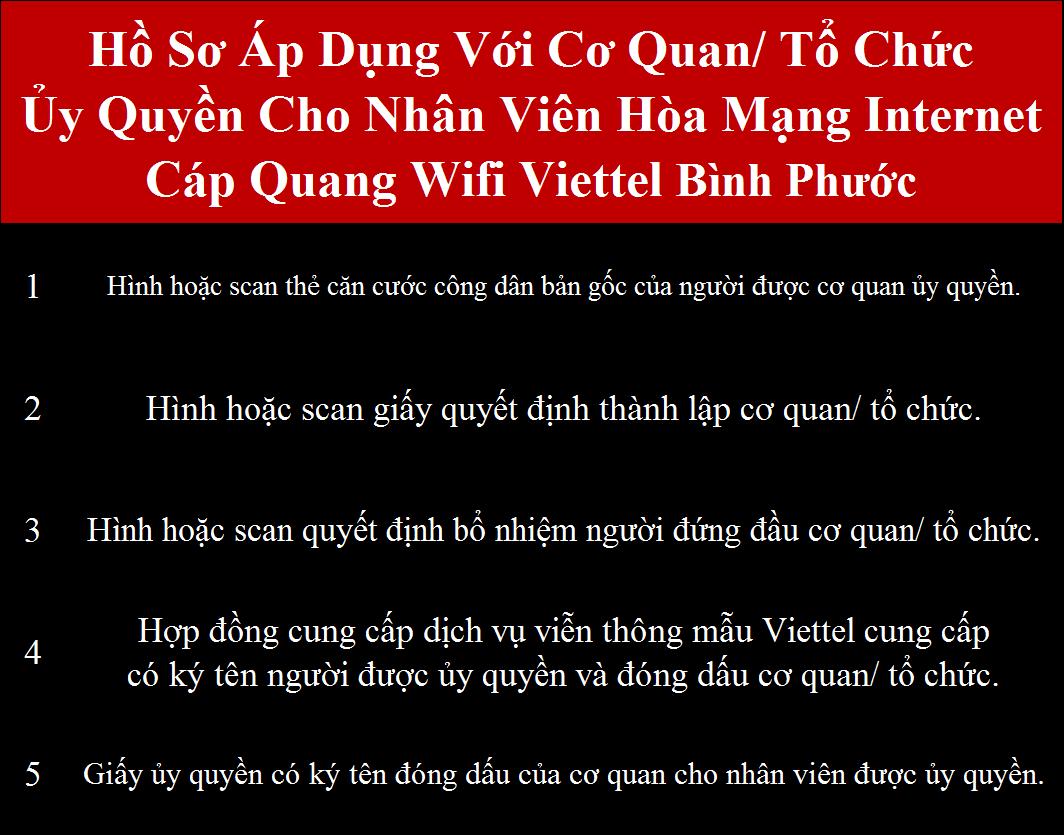 Đăng ký internet Viettel Bình Phước