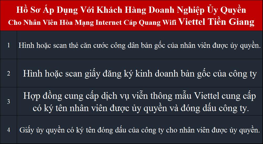 Đăng ký wifi Viettel Cái Bè Tiền Giang