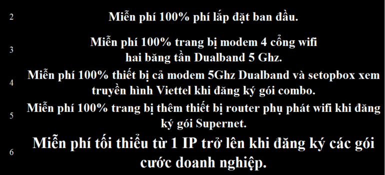 Khuyến Mãi Đăng Ký Lắp Đặt Mạng Internet Cáp Quang Wifi Viettel Đắk Lắk 2021