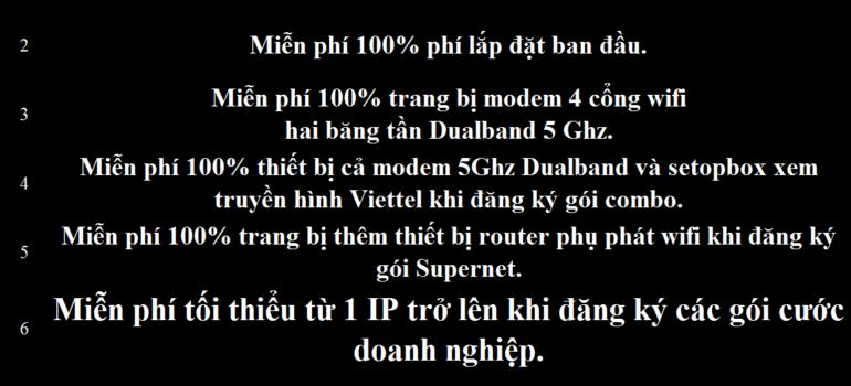 Khuyến Mãi Lắp Mạng Internet Cáp Quang Wifi Viettel Bà Rịa Vũng Tàu 2021