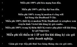 Khuyến Mãi Lắp Mạng Internet Cáp Quang Wifi Viettel Lâm Đồng 2021