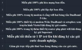 Khuyến Mãi Lắp Mạng Internet FTTH Cáp Quang Wifi Viettel Mỹ Tho Tiền Giang 2021