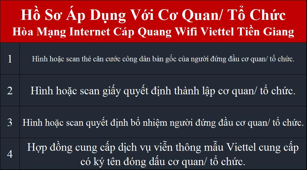 Lắp internet Viettel Cái Bè Tiền Giang