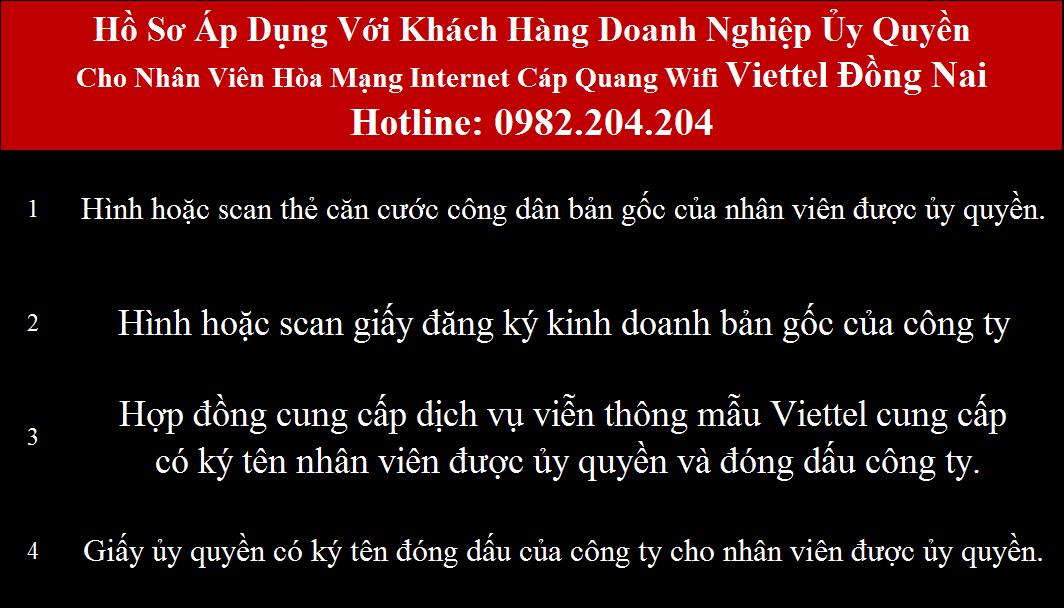 Lắp mạng Viettel Đồng Nai