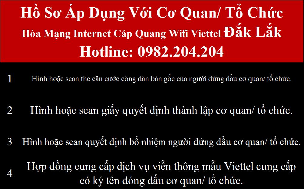 Lắp wifi Viettel Đắk Lắk