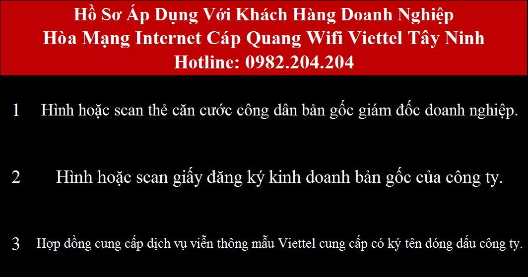 Lắp wifi Viettel Tây Ninh