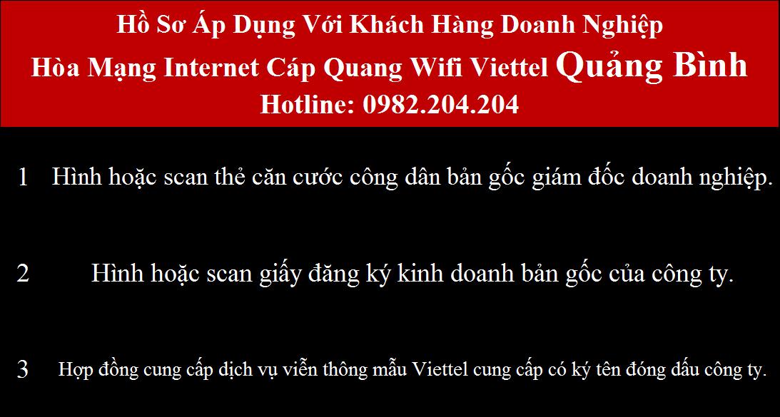 Bảng Giá Các Gói Cước internet Wifi Viettel Quảng Bình