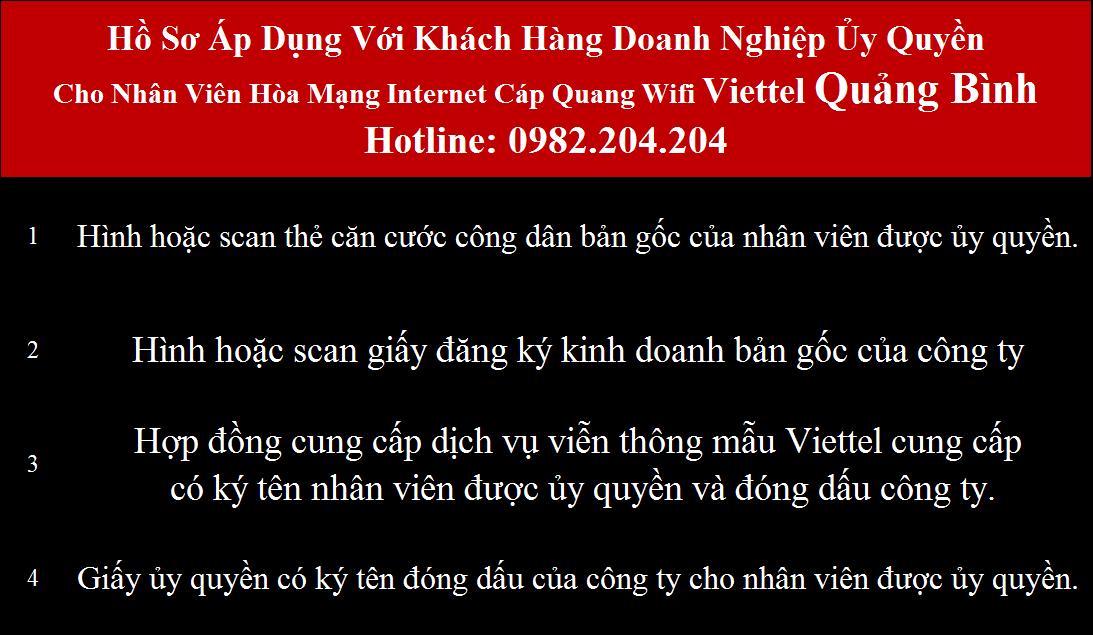 Đăng ký mạng Viettel Quảng Bình