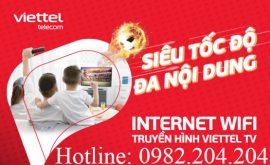 Khuyến mãi combo internet truyền hình Viettel Phú Xuyên Hà Nội